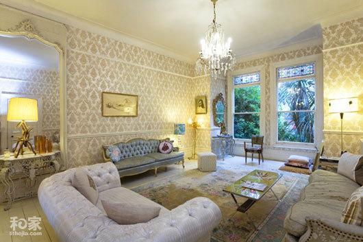 伦敦公寓 教你打造不一样的奢华格调