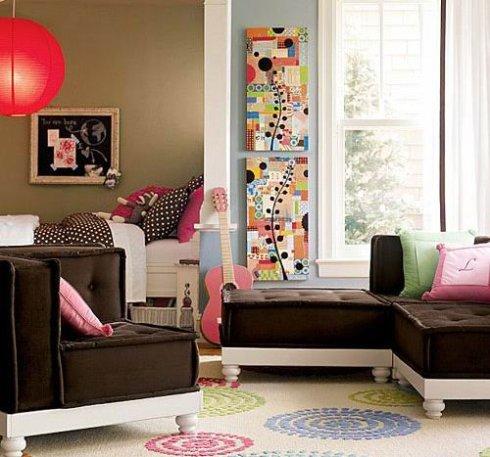 时尚墙饰让单调空间充满精彩
