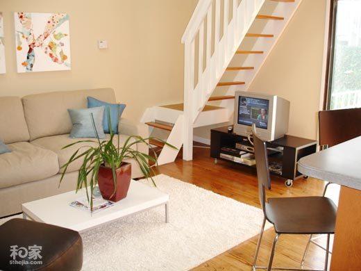 两室两厅装修 80平简约温馨小居 现代风格 样板间 家居建