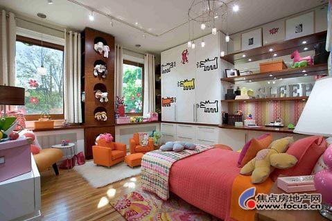 梦幻色彩女人卧室家具