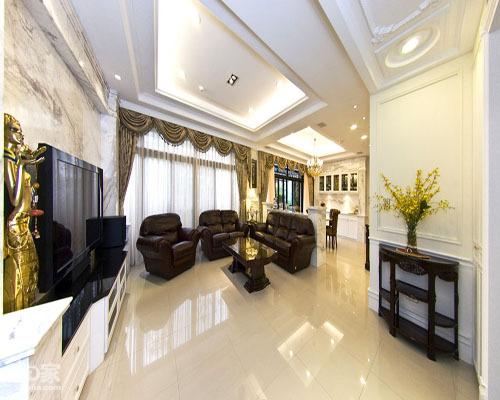 白色别墅 古典英式风格