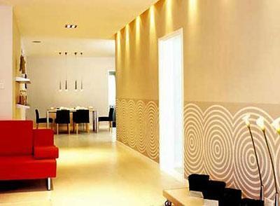 中式风格超大客厅