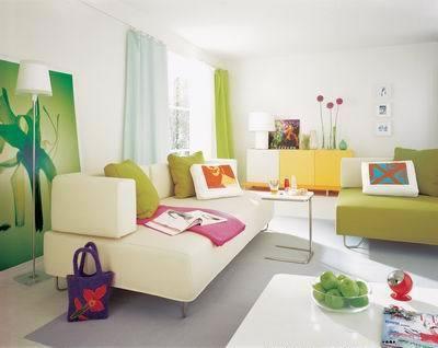 现代温馨客厅