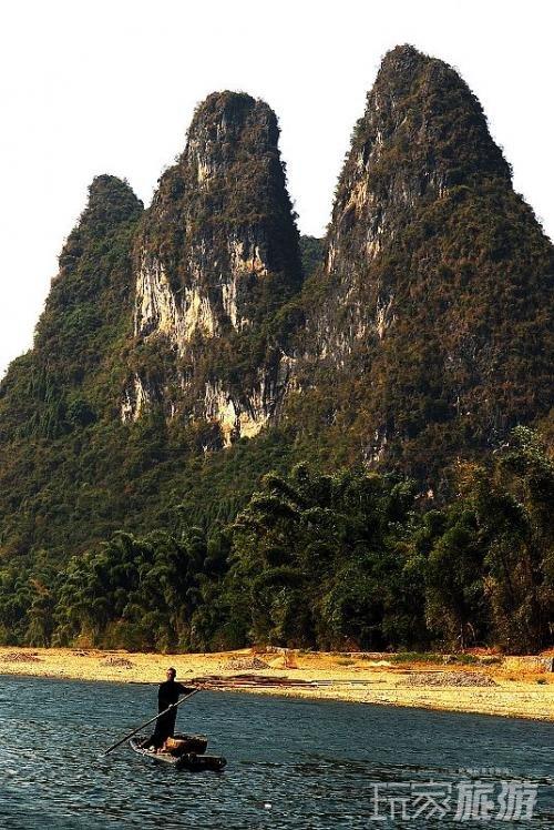 桂林山水—20元人民币后面的风景