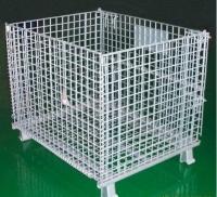供应折叠式仓储笼,山东仓储笼,折叠式仓库笼