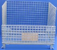 供应折叠式仓储笼,堆垛式仓储笼
