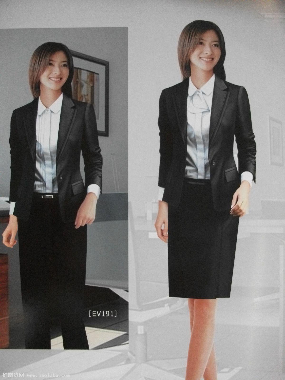 女士西装职业装--女装新款--流