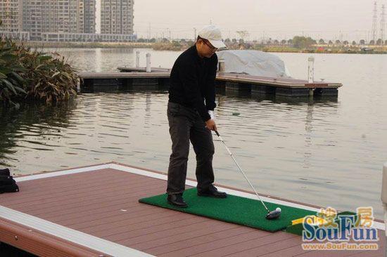 水上高尔夫大赛