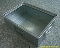 金属周转箱15358113996铁制周转箱 钢板箱
