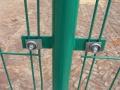 折彎護欄網生產廠家 浸塑護欄網立柱