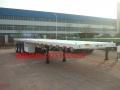 40英尺集装箱平板车  12.5-13米集装箱平板半挂车
